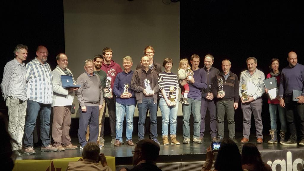 Premiados en la 21A Mostra d'Audiovisuals i Fotografia de Muntanya.